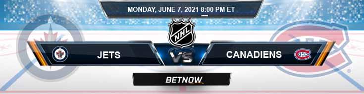 Winnipeg Jets vs Montreal Canadiens 06-07-2021 NHL Tips Spread & Picks