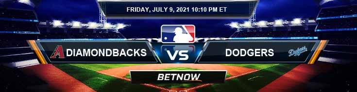 Arizona Diamondbacks vs Los Angeles Dodgers 07-09-2021 Game Analysis MLB Baseball and Tips