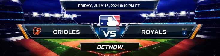 Baltimore Orioles vs Kansas City Royals 07-16-2021 Forecast Analysis and Odds