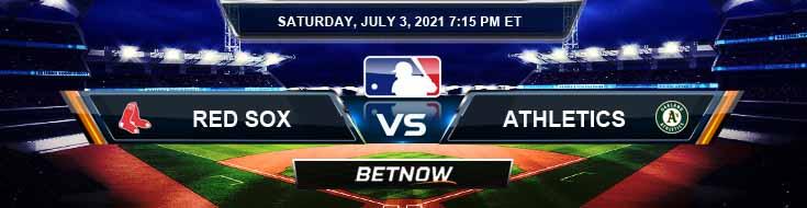 Boston Red Sox vs Oakland Athletics 07-03-2021 Game Analysis MLB Baseball and Tips