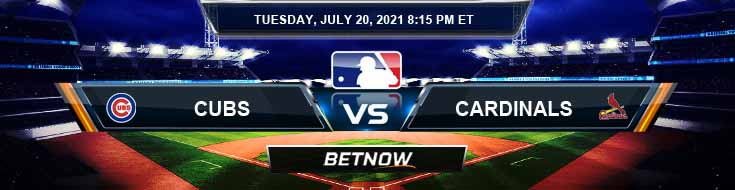 Chicago Cubs vs St. Louis Cardinals 07-20-2021 MLB Preview Spread and Game Analysis