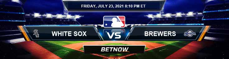 Chicago White Sox vs Milwaukee Brewers 07-23-2021 Betting Picks Predictions and Spread
