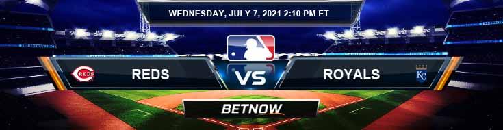 Cincinnati Reds vs Kansas City Royals 07-07-2021 Spread Game Analysis and MLB Baseball