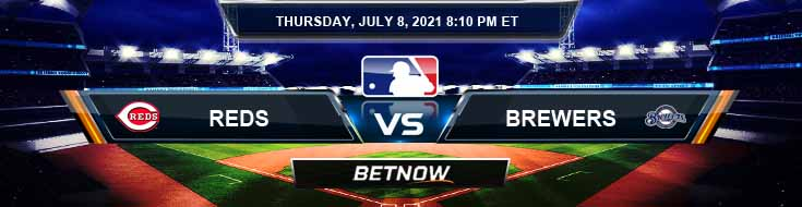 Cincinnati Reds vs Milwaukee Brewers 07-08-2021 Picks Predictions and Previews