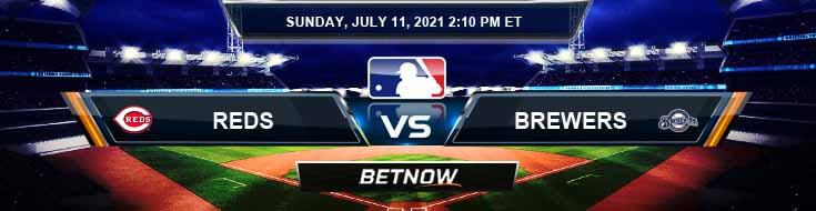 Cincinnati Reds vs Milwaukee Brewers 07-11-2021 Baseball Betting Analysis and Odds