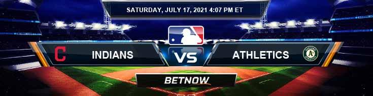 Cleveland Indians vs Oakland Athletics 07-17-2021 Forecast Baseball Betting and Analysis