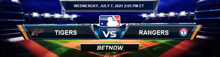Detroit Tigers vs Texas Rangers 07-07-2021 Previews Spread and Game Analysis