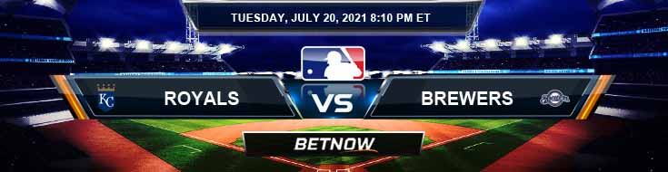 Kansas City Royals vs Milwaukee Brewers 07-20-2021 Predictions MLB Preview and Spread