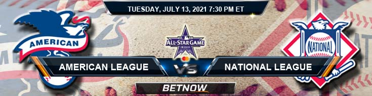 MLB All-Star Game American League vs National League 07-13-2021 Odds Picks and Predictions