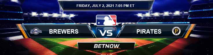 Milwaukee Brewers vs Pittsburgh Pirates 07-02-2021 Predictions Previews and Spread