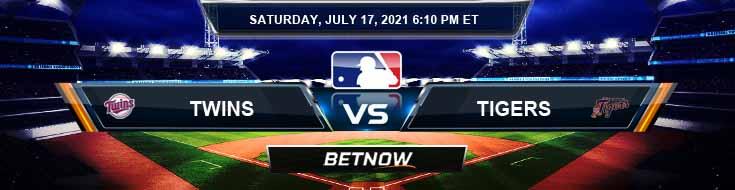 Minnesota Twins vs Detroit Tigers 07-17-2021 Analysis Odds and Betting Picks