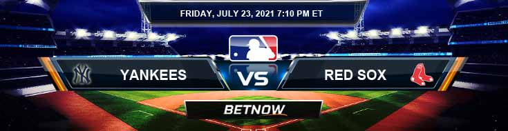 New York Yankees vs Boston Red Sox 07-23-2021 MLB Preview Spread and Game Analysis