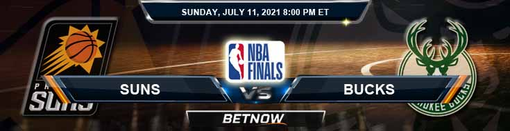 Phoenix Suns vs Milwaukee Bucks 7-11-2021 Odds Picks and Previews