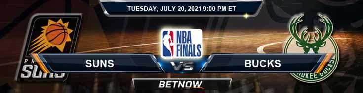 Phoenix Suns vs Milwaukee Bucks 7-20-2021 Odds Picks and Prediction