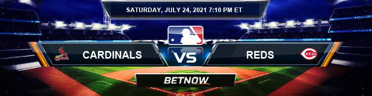 St. Louis Cardinals vs Cincinnati Reds 07-24-2021 MLB Preview Spread and Game Analysis
