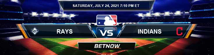 Tampa Bay Rays vs Cleveland Indians 07-24-2021 Spread Game Analysis and Baseball Tips