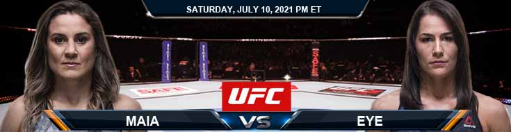 UFC 264 Maia vs Eye 07-10-2021 Odds Picks and Predictions