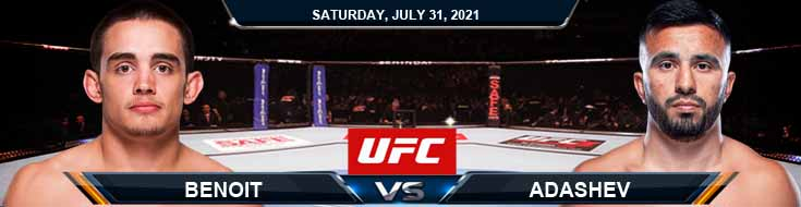 UFC ON ESPN 28 Benoit vs Adashev 07-31-2021 Tips Analysis and Odds