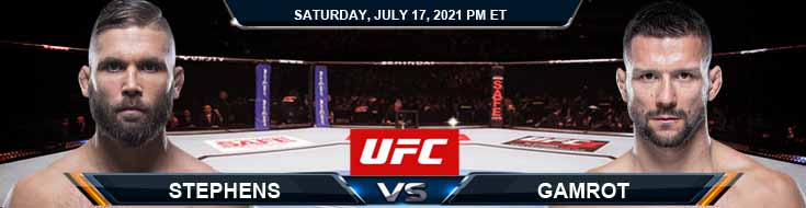 UFC on ESPN 26 Stephens vs Gamrot 07-17-2021 Predictions Previews and Spread