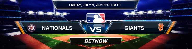 Washington Nationals vs San Francisco Giants 07-09-2021 Spread Game Analysis and MLB Baseball
