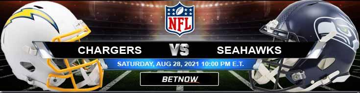 2021 NFL Preseason Week 3 Los Angeles Chargers vs Seattle Seahawks 08-28-2021 Odds Betting Picks and Prediction