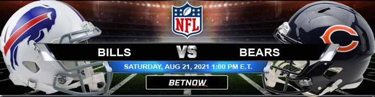 Buffalo Bills vs Chicago Bears 08-21-2021 Analysis Football Betting and Odds