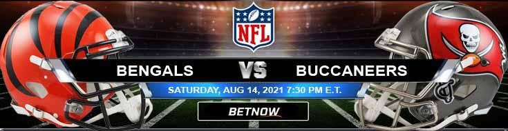 Cincinnati Bengals vs Tampa Bay Buccaneers 08-14-2021 Predictions Previews and Spread