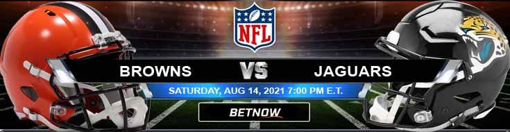 Cleveland Browns vs Jacksonville Jaguars 08-14-2021 Football Betting Odds and Picks