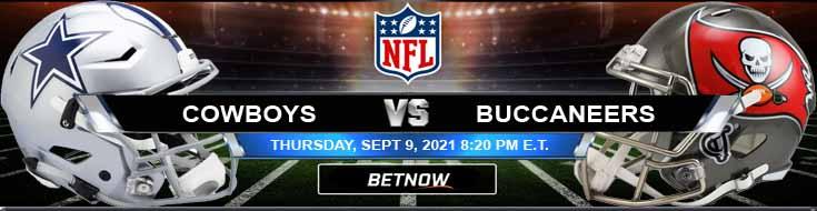 Dallas Cowboys vs Tampa Bay Buccaneers 09-09-2021 Odds Picks and Predictions