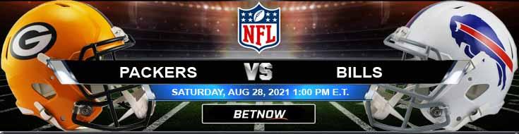 Green Bay Packers vs Buffalo Bills 08-28-2021 NFL Preseason Game Week 3 Betting Preview
