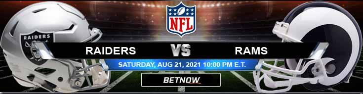 Las Vegas Raiders vs Los Angeles Rams 08-21-2021 Tips Forecast and Analysis
