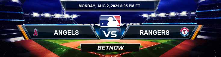 Los Angeles Angels vs Texas Rangers 08-02-2021 Forecast Analysis and Odds