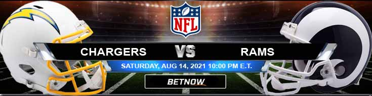 Los Angeles Chargers vs Los Angeles Rams 08-14-2021 Tips Forecast and Analysis