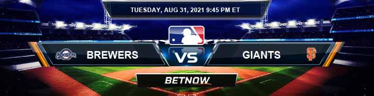 Milwaukee Brewers vs San Francisco Giants 08-31-2021 Tips MLB Forecast and Analysis