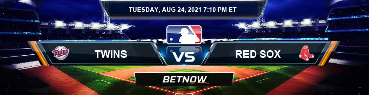 Minnesota Twins vs Boston Red Sox 08-24-2021 Forecast Analysis and Odds