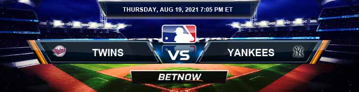 Minnesota Twins vs New York Yankees 08-19-2021 MLB Preview Spread and Game Analysis