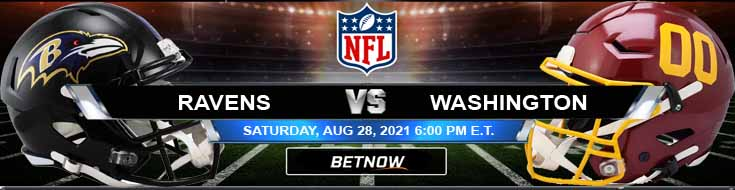 NFL Preseason Game Spread Game Analysis and Tips for Baltimore vs Washington 08-28-2021