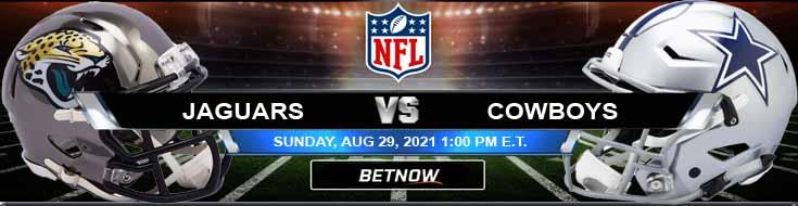 NFL Preseason Week 3 Jacksonville Jaguars vs Dallas Cowboys 08-29-2021 Betting Odds and Preview