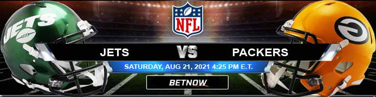 New York Jets vs Green Bay Packers 08-21-2021 Football Betting Odds and Picks