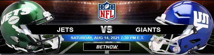 New York Jets vs New York Giants 08-14-2021 Picks Predictions and Previews