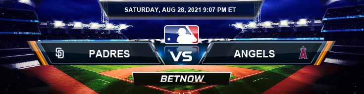 San Diego Padres vs Los Angeles Angels 08-28-2021 Betting Picks Predictions and MLB Preview