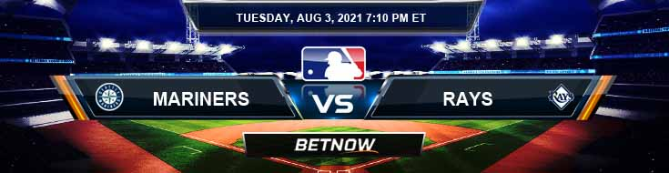 Seattle Mariners vs Tampa Bay Rays 08-03-2021 Spread Game Analysis and Baseball Tips