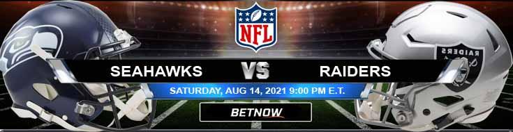Seattle Seahawks vs Las Vegas Raiders 08-14-2021 Game Analysis Tips and Forecast