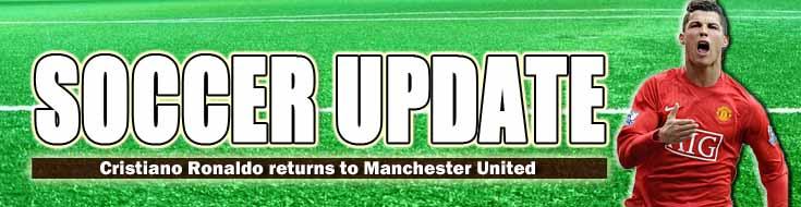 Soccer Update Cristiano Ronaldo Returns to Manchester United