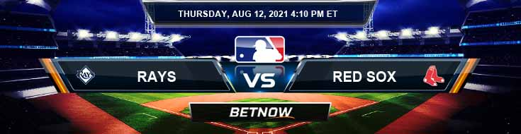 Tampa Bay Rays vs Boston Red Sox 08-12-2021 Spread Game Analysis and Baseball Tips
