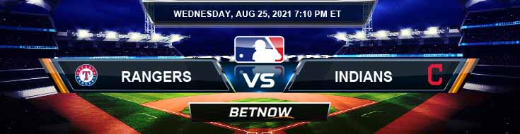 Texas Rangers vs Cleveland Indians 08-25-2021 Forecast Analysis and Odds