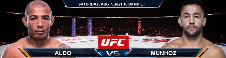 UFC 265 Aldo vs Munhoz 08-07-2021 Tips Analysis and Odds