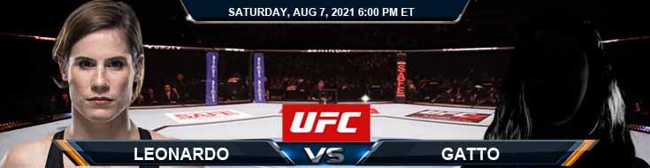 UFC 265 Leonardo vs Gatto 08-07-2021 Analysis Odds and Picks