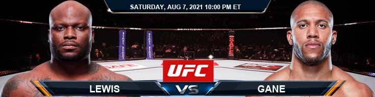 UFC 265 Lewis vs Gane 08-07-2021 Forecast Tips and Analysis