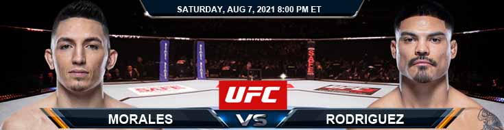 UFC 265 Morales vs Rodriguez 08-07-2021 Fight Analysis Forecast and Tips